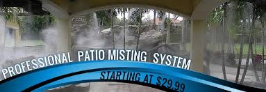 patio misting systems water misters outdoor misting systems