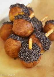 sweet pumpkin donut acorn treats savvy saving