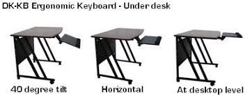 Under Desk Pull Out Drawer D Dkb Slidable Underdesk Ergonomic Keyboard Shelf W Mouse Tray
