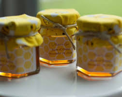 honey jar wedding favors honey jar favors etsy