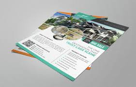 Real Estate Flyer Template Free Download make an impression with these beautiful real estate flyer templates