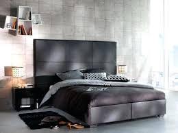 deco chambre lit noir deco chambre lit noir chambre design linge lit noir photo but maison