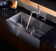 36 stainless steel farmhouse sink kraus stainless steel kitchen sink 36 inch farmhouse apron intended