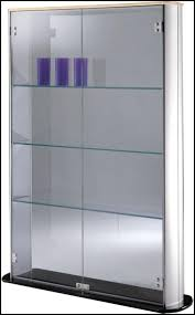 Wall Mounted Display Cabinets With Glass Doors Wall Mount Display Cabinet Wall Mounted Display Black Wall