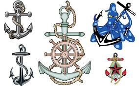 anchors and nautical tattoos artbody tattoo designs