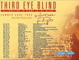 Third Eye Blind Latest Album Hey Nostalgists Don U0027t Miss Third Eye Blind And Silversun Pickups
