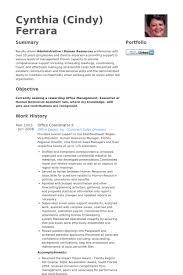 Resume Paper Office Depot Office Coordinator Resume Samples Visualcv Resume Samples Database