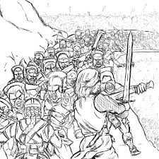 lord of the rings battle of helms deep by luffiexxx on deviantart