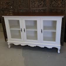 buffet with three glass doors nadeau charlotte