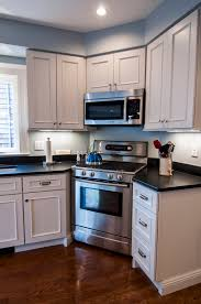 Kitchen Cabinets Made In Usa Eastman St Woodworks Kitchen Door Style Ashland Color Heron