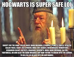 Huge Spider Memes Image Memes - hogwarts is super safe lol except for the giant killer dogs dark