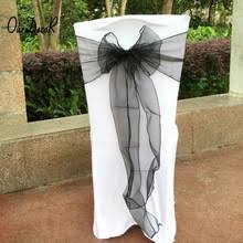 black chair sashes popular black chair sashes buy cheap black chair sashes lots from