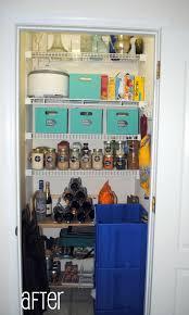 create a pantry in a closet