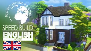 British Houses The Sims 4 Speed Build English House Around The World Youtube