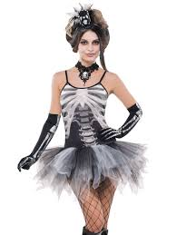 Ladies Skeleton Halloween Costume by Skeleton Day Of The Dead Partynutters Uk