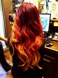 hair styliest eve stylish eve pretty orange hair style 2014 15 for elegant girls 7