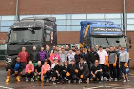 volvo group volvo group charity truck pull raises 700
