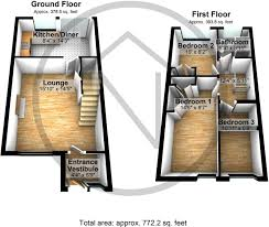 beauty salon floor plans 3 bedroom terraced house for sale in mewburn court darlington dl3