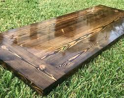 buy reclaimed wood table top reclaimed wood desk etsy