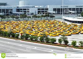 Miami International Airport Terminal Map by Taxi Rank At Miami International Airport Editorial Stock Photo