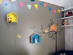 fanion chambre bébé décoration chambre bébé garcon guirlande fanion étagère maison