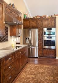 Shaker Style Kitchen Cabinets by Stained Knotty Alder Shaker Style Kitchen Cabinetry Woodwright U0027s