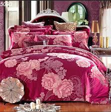 Silk Duvet Covers King Size Shop Pink Silk Wedding Bedding Sets