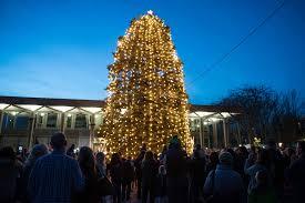 bethlehem pa christmas lights bethlehem celebrates christmas with tree lighting photos