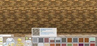 mod the sims brick walls