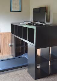 standing corner desk inspirations and bekant left sitstand black