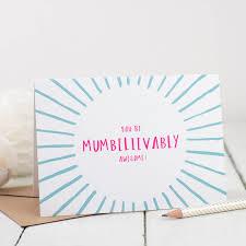 awesome mum birthday card by bespoke verse notonthehighstreet com