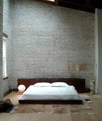 Minimalist Bedroom by 20 Modern Bedroom Designs With Exposed Brick Walls Rilane