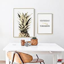 Nordic Decoration Online Buy Wholesale Pineapple Wall Decor From China Pineapple