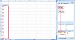 excel pivot table tutorial 2010 excel pivot table tutorial sle productivity portfolio