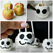 this is halloween with jack skellington candy apples fandango