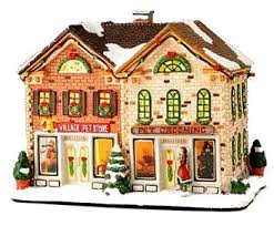a brief history of christmas villages from family christmas online