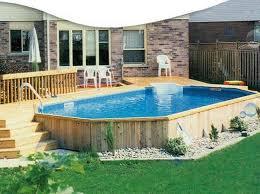 Swimming Pool Ideas Best 25 Above Ground Pool Ideas On Pinterest Swimming Pool