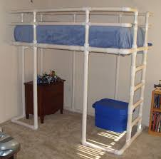 Loft Bed Made From PVC Water Pipe - Water bunk beds