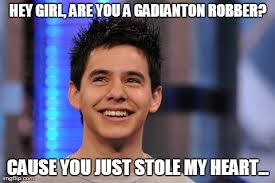 Smile Girl Meme - 9 david archuleta hey girl memes why because we can lds