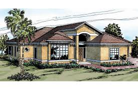 Luxury Craftsman Style Home Plans Mediterranean House Plans Odessa 11 021 Associated Designs