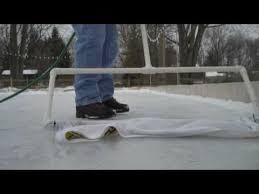 Backyard Ice Skating Rink Backyard Ice Skating Rink Zamboni 2010 Youtube