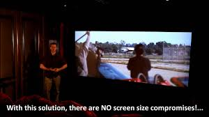 home movie theater projector home theater multiple aspect ratio demonstration youtube