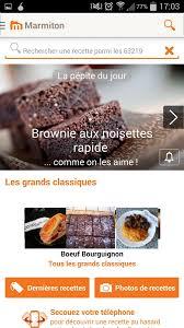 marmitons recettes cuisine télécharger marmiton recettes de cuisine gratuit