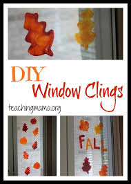 diy window clings simple crafts window and learning