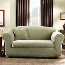 Cream Sofa And Loveseat Shop Chair Covers And Sofa Covers Slipcovers You U0027ll Love Wayfair