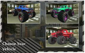 rc monster truck freestyle videos monster truck racing legends android apps on google play