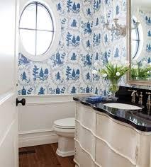 Bathroom Wallpaper Modern Modern Bathroom Wallpaper Design Bedroom And Living Room Image