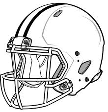 nfl team coloring pages nfl football helmet coloring pages sports football pinterest