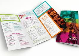 creative restaurant menu designs custom menu design new