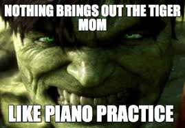 Tiger Mom Memes - meme creator nothing brings out the tiger mom like piano